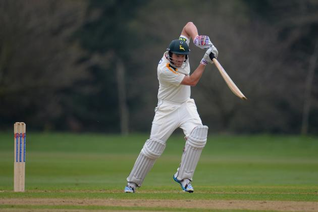 Riki Wessels Hits 90 to Put Notts in Driving Seat Against Lancashire