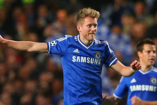 Andre Schurrle Proves Chelsea's Surprise UCL Hero Against Paris Saint-Germain