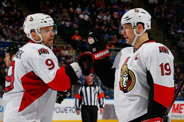 Spezza Powers Senators Past Islanders 4-1