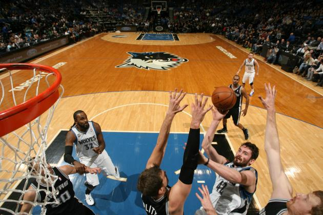 Wolves Cruise Past Spurs 110-91