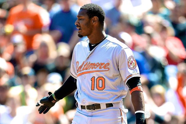 Adam Jones Says Players Should Be Able to Kick Fans That Run onto the Field