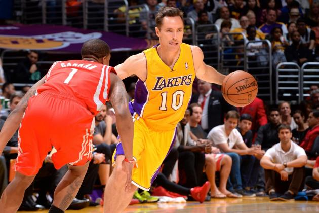 Steve Nash Passes Mark Jackson for Third Place on NBA's All-Time Assist List