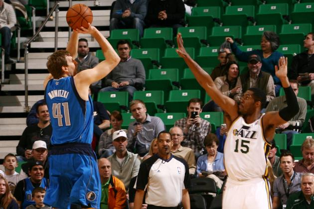 Nowitzki, Mavs Beat Jazz 95-83