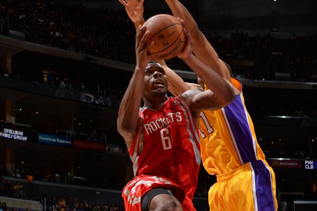 Rockets Win Shootout over Lakers 145-130