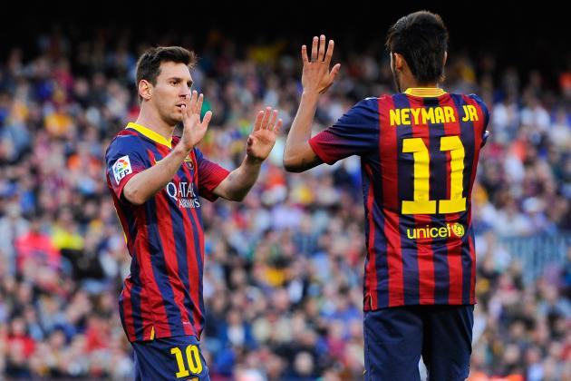 Atletico Madrid vs. Barcelona: Champions League Live Score, Highlights, Report