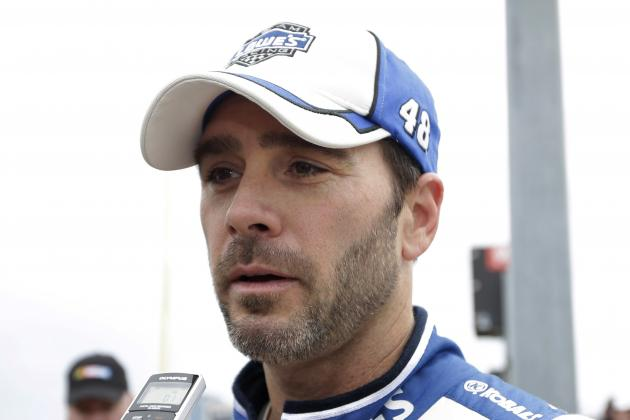 Jimmie Johnson Says He's Not Yet Nervous over New Chase Format