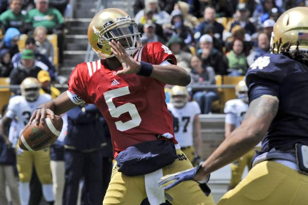 Blue-Gold Game an Important Progress Report for Golson