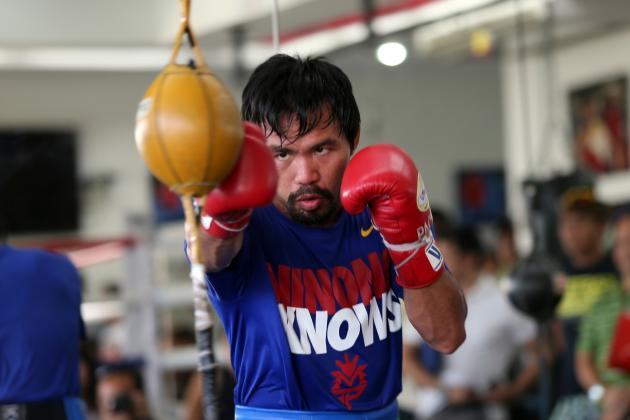 Breaking Down Manny Pacquiao's Biggest Weaknesses Ahead of Timothy Bradley Bout