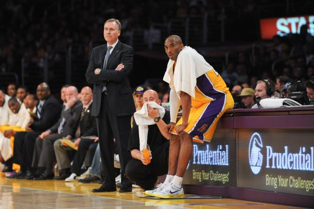 GM Mitch Kupchak: Lakers Won't Consult Kobe Bryant on Mike D'Antoni's Future