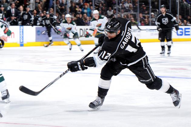 Kings' Marian Gaborik Poised to Hit 700-Point Plateau