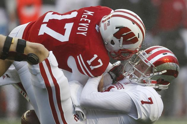 Wisconsin Football: All Eyes on QB Tanner McEvoy in Badgers' Spring Game