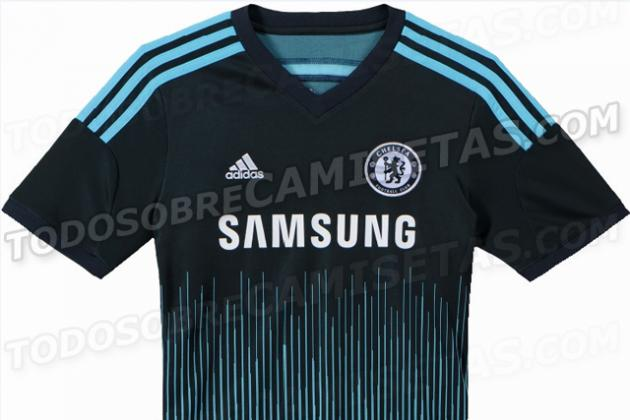 Chelsea's Third Kit for 2014-15 Is Revealed & It's Got a Lot of Lines on It