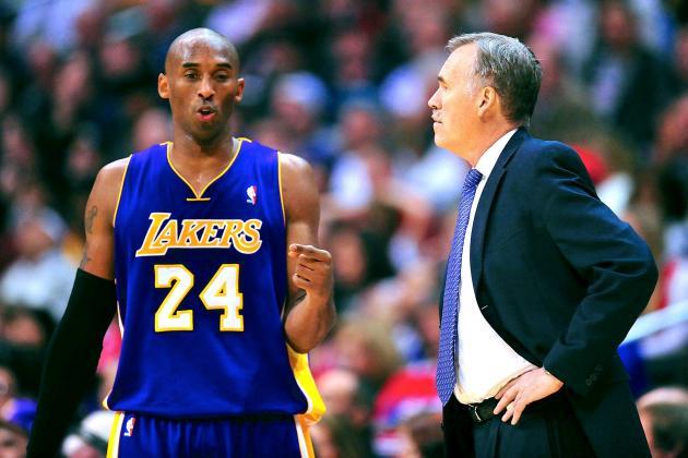 GM Mitch Kupchak: Lakers Won't Consult Kobe Bryant on Mike D'Antoni's Future