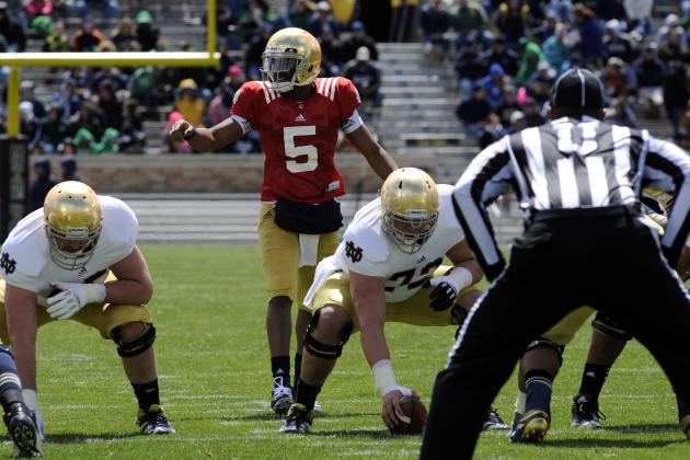 Malik Zaire Will Be Just as Important to Notre Dame as Everett Golson in 2014