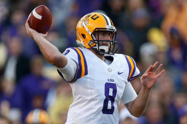 Zach Mettenberger: Breaking Down LSU QB's Pro Day Workout