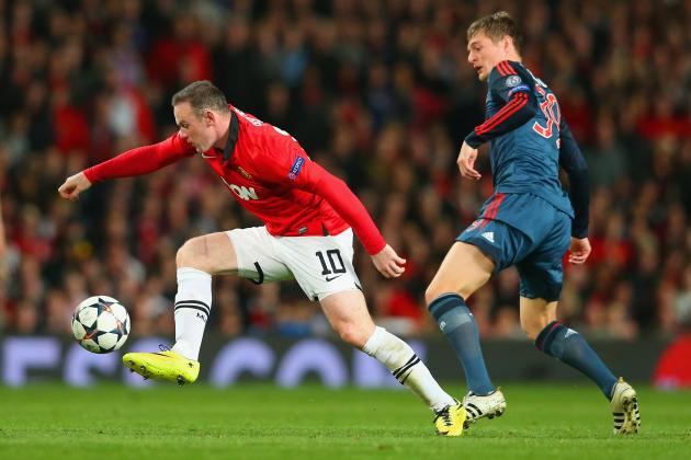 Bayern Munich vs. Manchester United: Live Player Ratings
