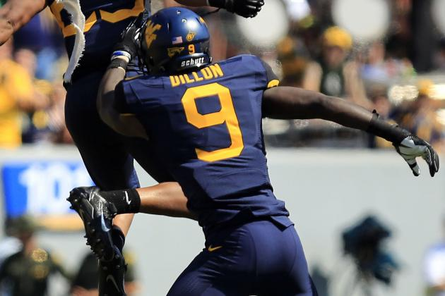 Dillon Making Impact on West Virginia Defense This Spring