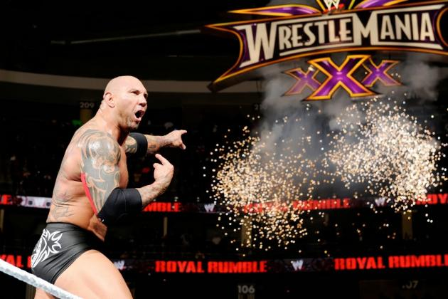 WWE Fans Will Better Appreciate Batista Post-WrestleMania 30