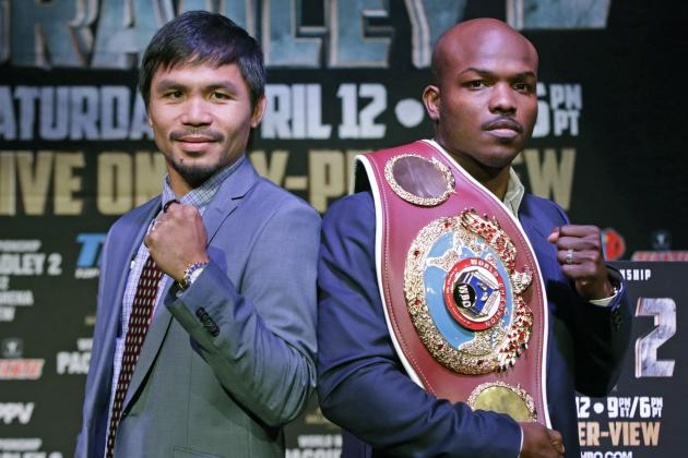 Pacquiao vs. Bradley 2 Prize Money: Breaking Down Fight Purse and Fighter Payout