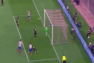 GIF: Koke Gives Atletico Madrid a Crucial Goal Against Barcelona