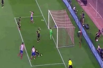 GIF: Koke Gives Atletico Madrid a Crucial Goal Against Barcelona