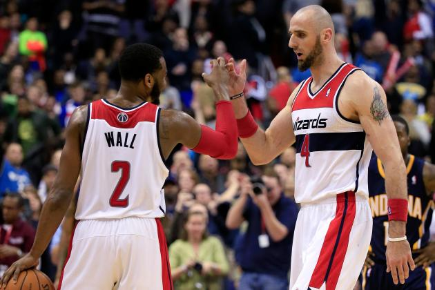 Poland's Marcin Gortat Coming Up Big for Washington Wizards