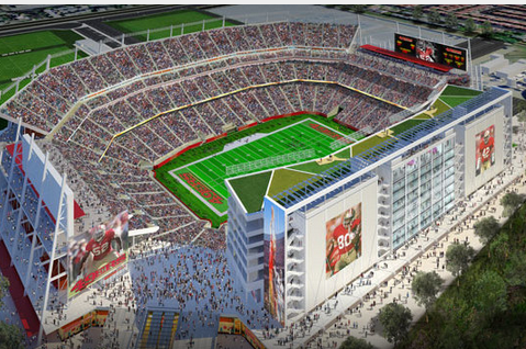 49ers' New Stadium Opens with Broncos' Preseason Visit
