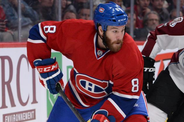 Canadiens' Brandon Prust Starts Skating