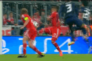 Video: Patrice Evra Puts Man United Ahead, Mario Mandzukic Levels Moments Later