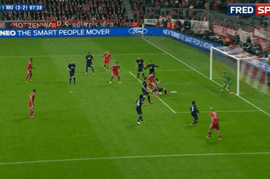 GIF: Thomas Muller Scores Potential Match-Winner for Bayern Munich vs. United