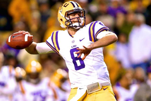 Zach Mettenberger, Now Healthy, Shooting Up Boards and Could Be Elite NFL Passer