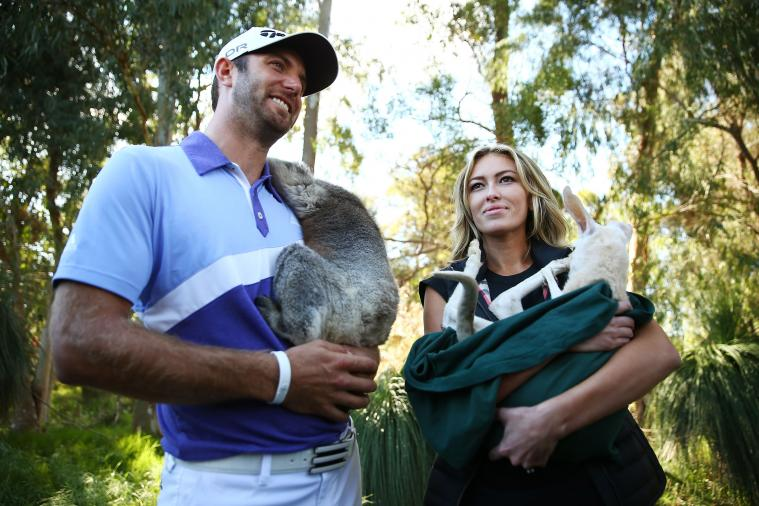 Dustin Johnson's Girlfriend Paulina Gretzky Steals Masters Spotlight with Cover