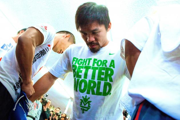 Manny Pacquiao Is Fighting to Raise Spirits in Typhoon-Ravaged Philippines
