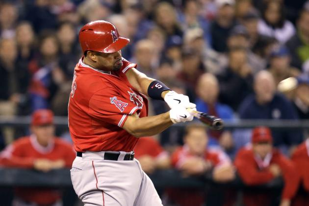 Angels' Albert Pujols Records RBI No. 1,500 with Mammoth Homer