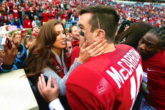 AJ McCarron and Katherine Webb Reportedly Set to Star in Reality Wedding Series