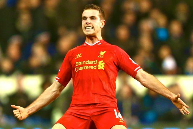 How Much Is Liverpool Midfielder Jordan Henderson Worth Based on Form in 2014?