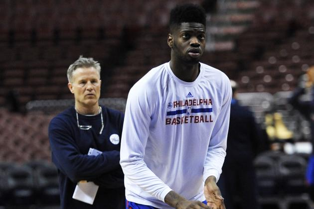 Nerlens Noel Admits It's Been 'Tough' Sitting out Entire First Season