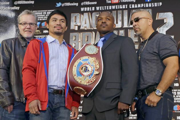 Pacquiao vs. Bradley 2 Live Stream: How to Watch Event and Last-Minute Preview