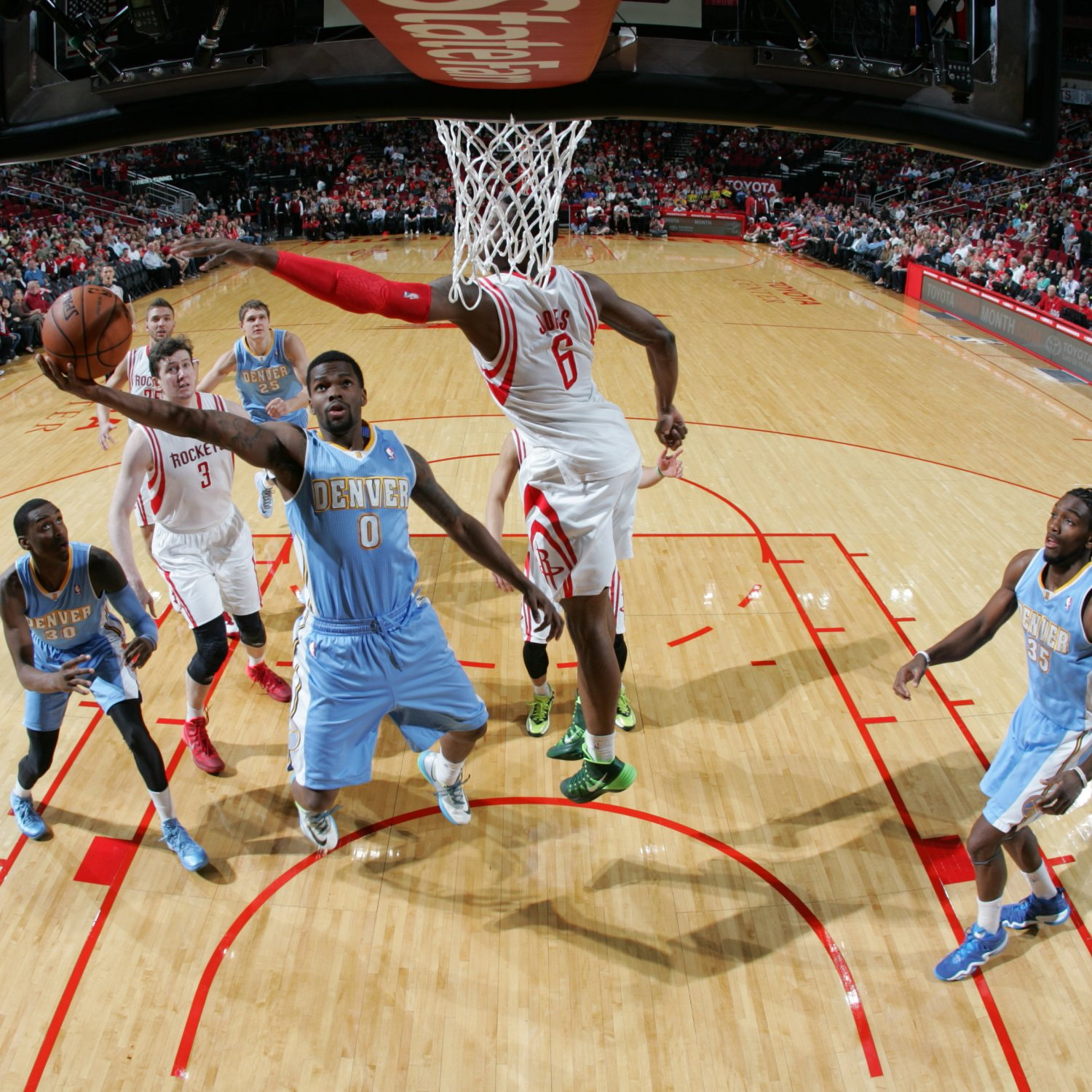 Houston Rockets Vs. Denver Nuggets: Live Score And