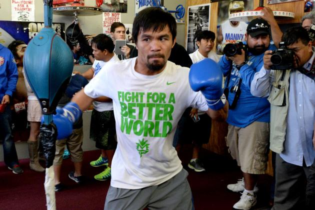 Pacquiao vs. Bradley 2: Top Storylines Heading into Main Event