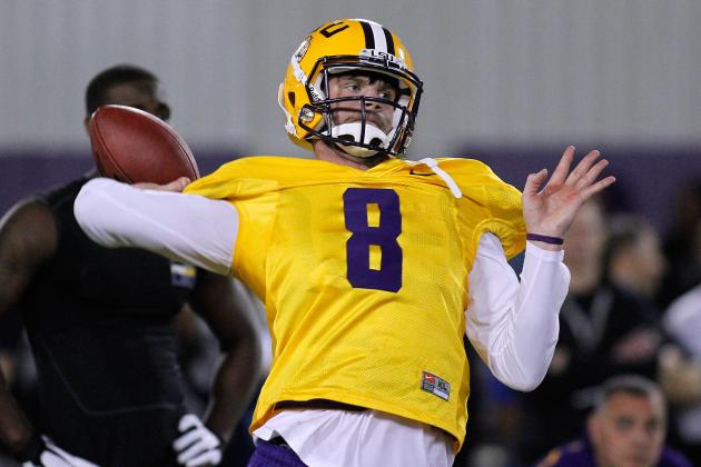 Zach Mettenberger's Updated 2014 NFL Draft Stock After Average Pro Day