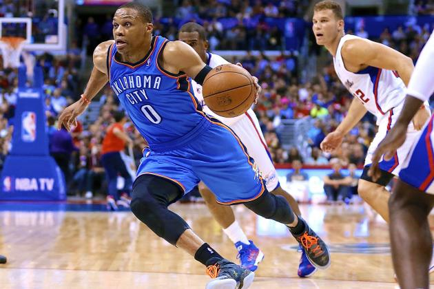 Thunder vs. Clippers: Live Score, Highlights and Reaction