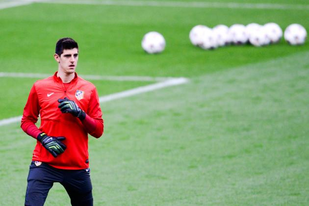 Thibaut Courtois Won't Face Chelsea in Champions League Due to Atletico Clause