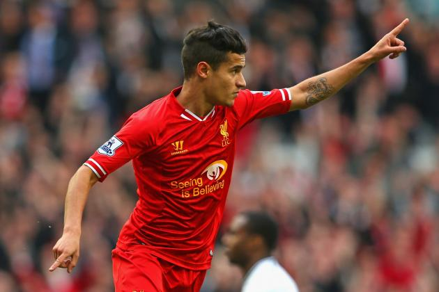 Should Liverpool Be Bold and Start Philippe Coutinho Against Manchester City?