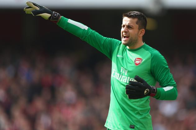 Lukasz Fabianski Will Start for Arsenal vs. Wigan in FA Cup Semi-Final