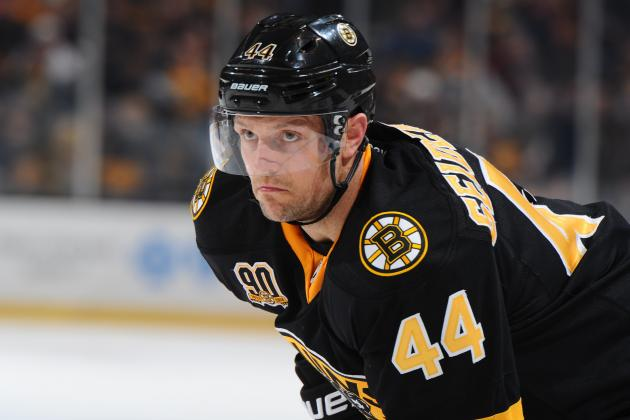 Injured Dennis Seidenberg Gets Back on the Ice