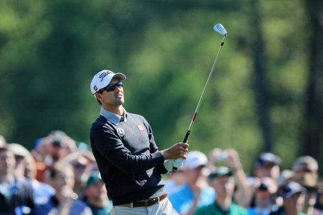 Masters Tournament 2014: Easy-to-View Mobile Updates for Day 1 Leaderboard