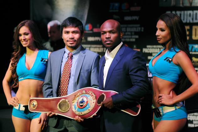 Pacquiao vs. Bradley Weigh-In: Date, Start Time, Live Stream for Pre-Fight Event