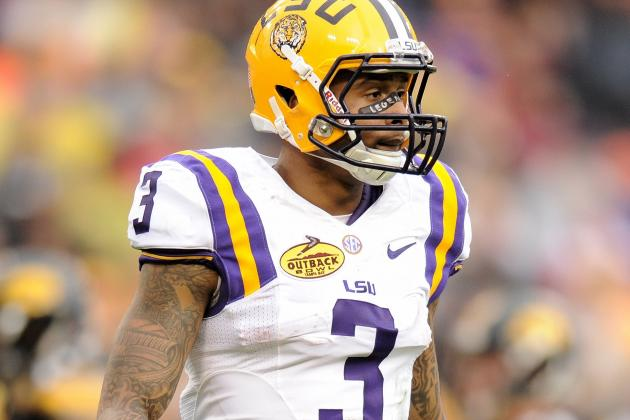 Beckham Meets with 49ers Scout at LSU Pro Day