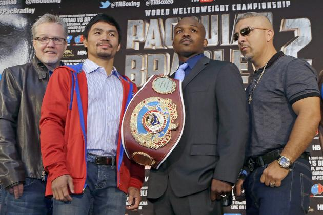 Pacquiao vs. Bradley 2: Expert Picks for Entire Card